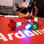 Arduino hack: light sensor programmed to indicate light level usng 3 LEDs