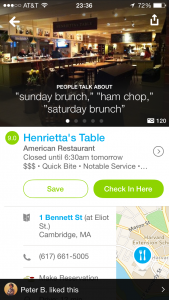 foursquare location