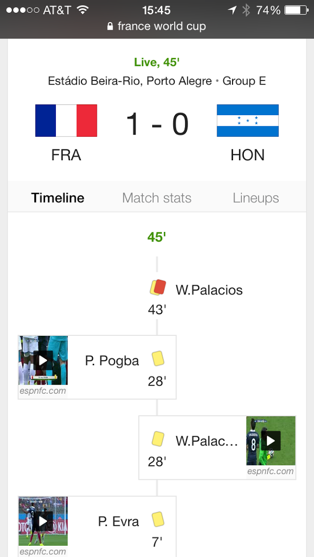 5 ways Google delivers winning World Cup results