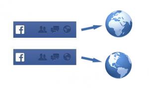 facebook globes