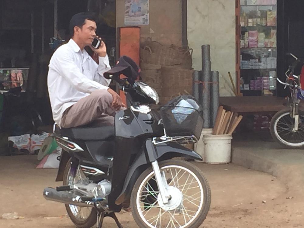 mobile motorbike