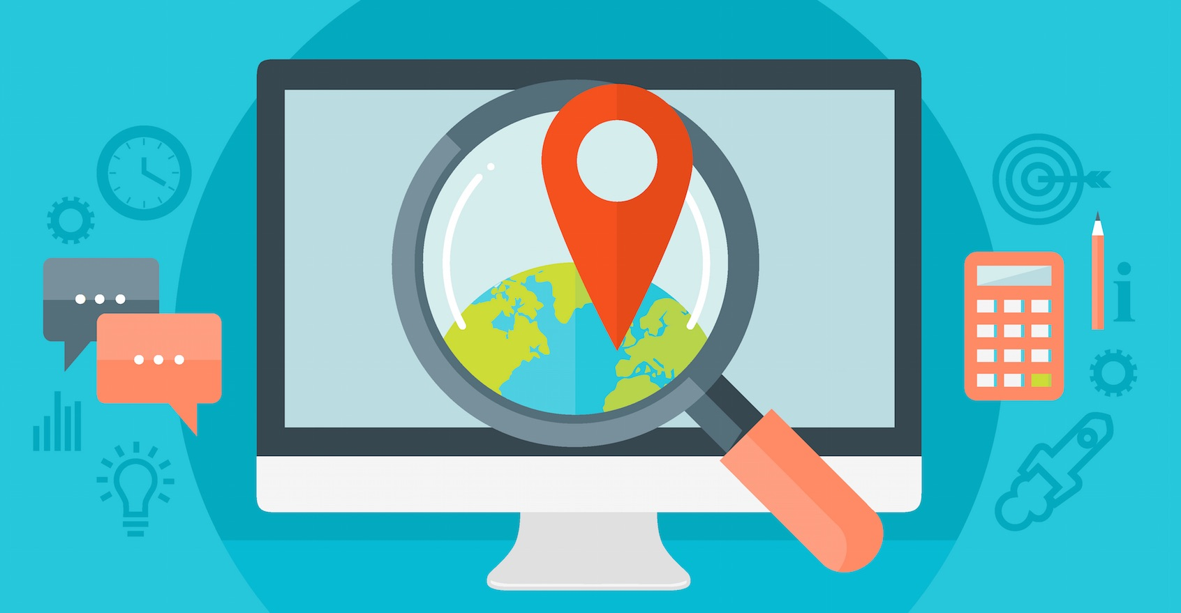 local SEO map