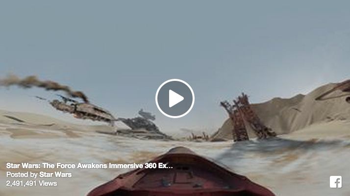 star wars video screenshot