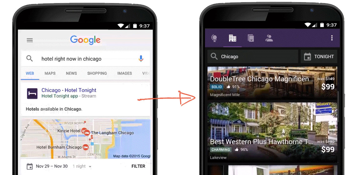 Google Indexing Mobile Content