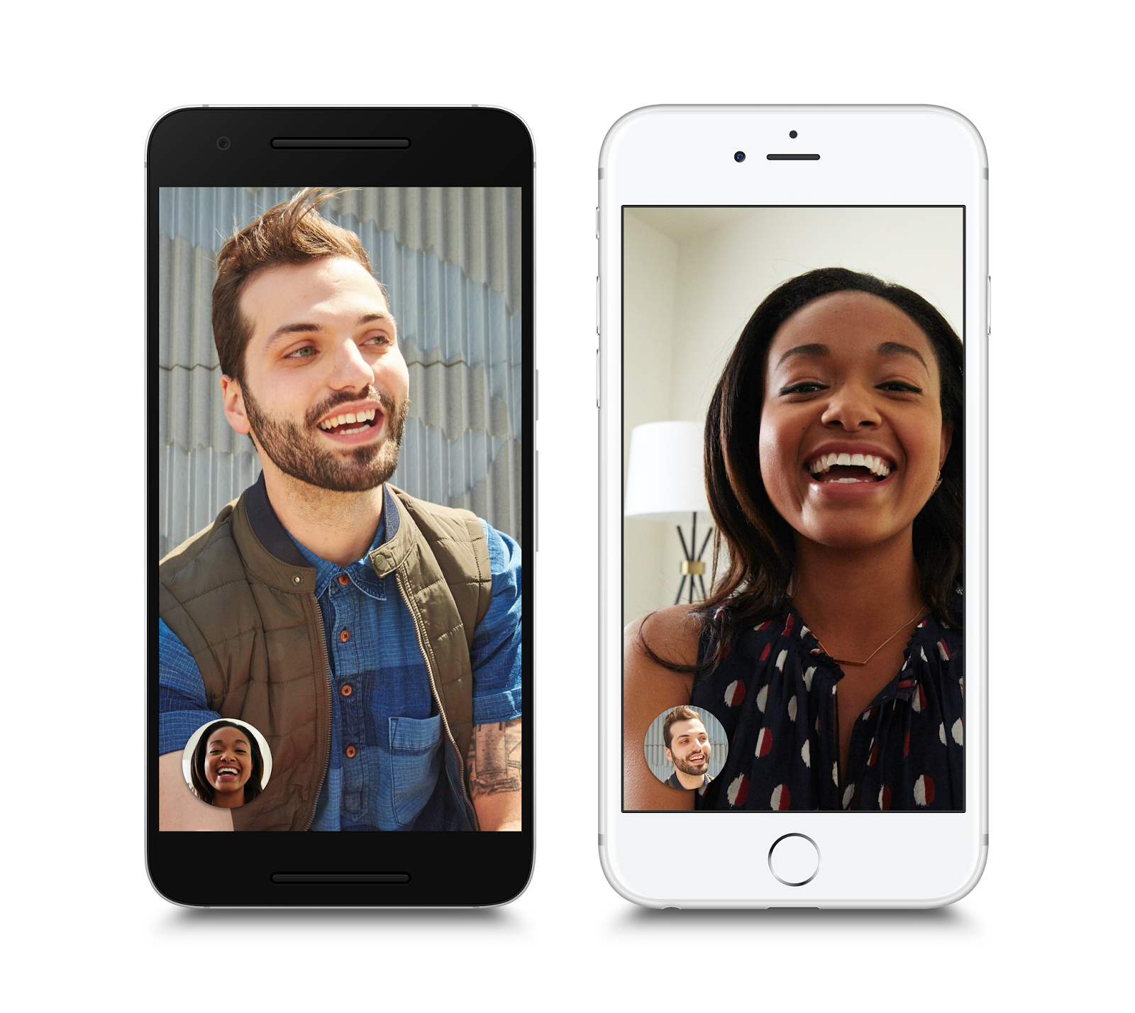 google duo sample screens