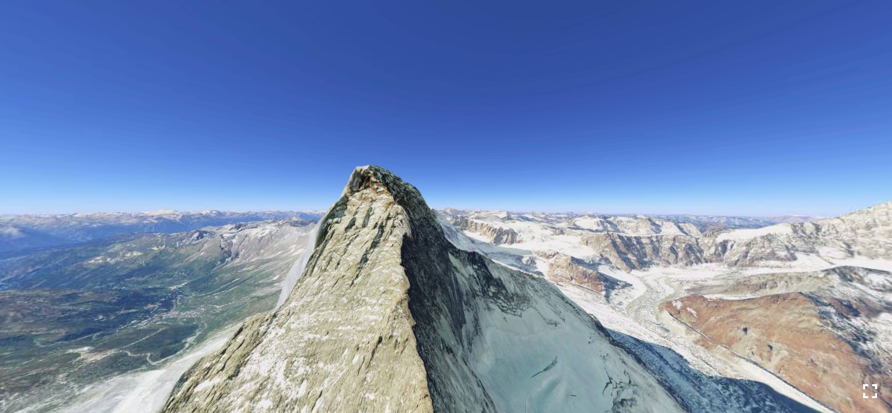 Matterhorn in Google Earth VR